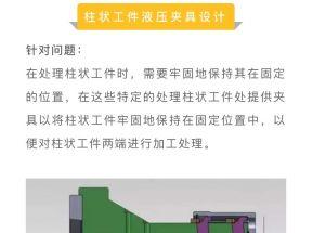 柱状零件、万向节液压夹具设计案例,看看具体细节