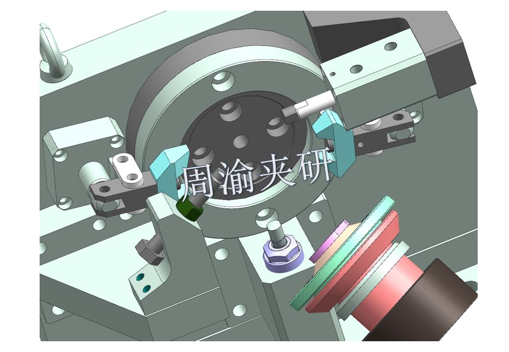 [夹具案例分享]弯管液压夹具实例  第4张