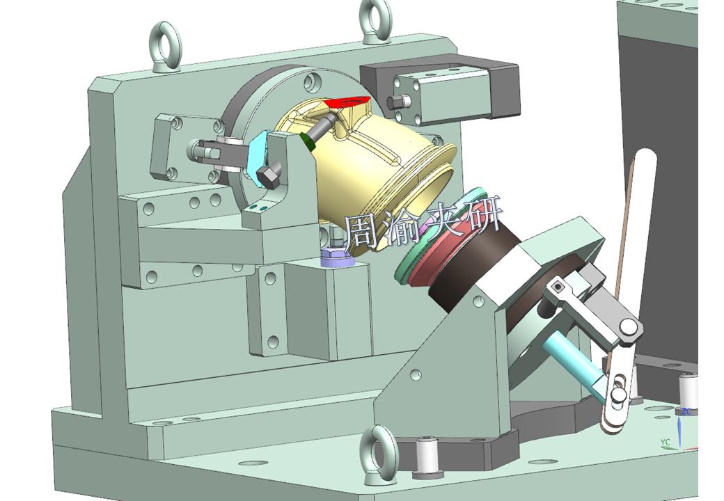 [夹具案例分享]弯管液压夹具实例  第6张