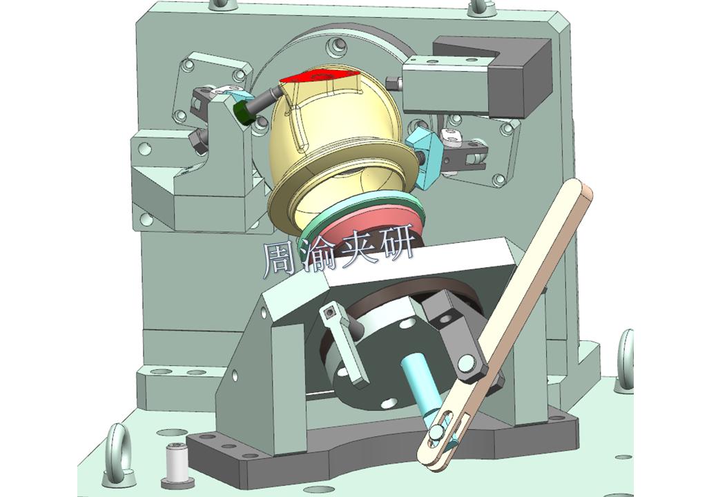 [夹具案例分享]弯管液压夹具实例  第8张