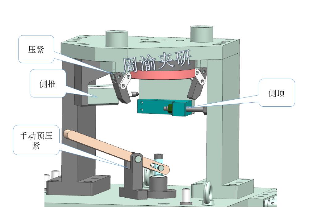 [夹具案例分享]弯管液压夹具实例  第9张
