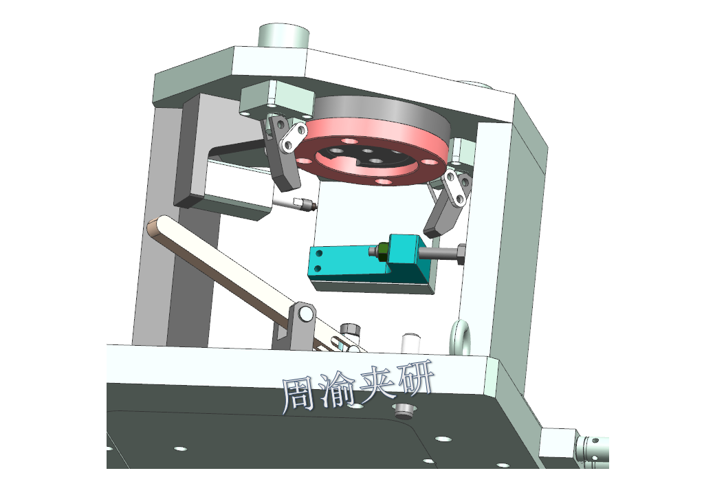 [夹具案例分享]弯管液压夹具实例  第10张