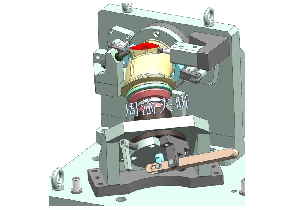 [夹具案例分享]弯管液压夹具实例  第16张