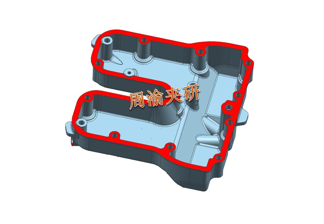 [案例分享]壳体夹具案例分享  液压夹具 立加夹具 多工位夹具 第2张