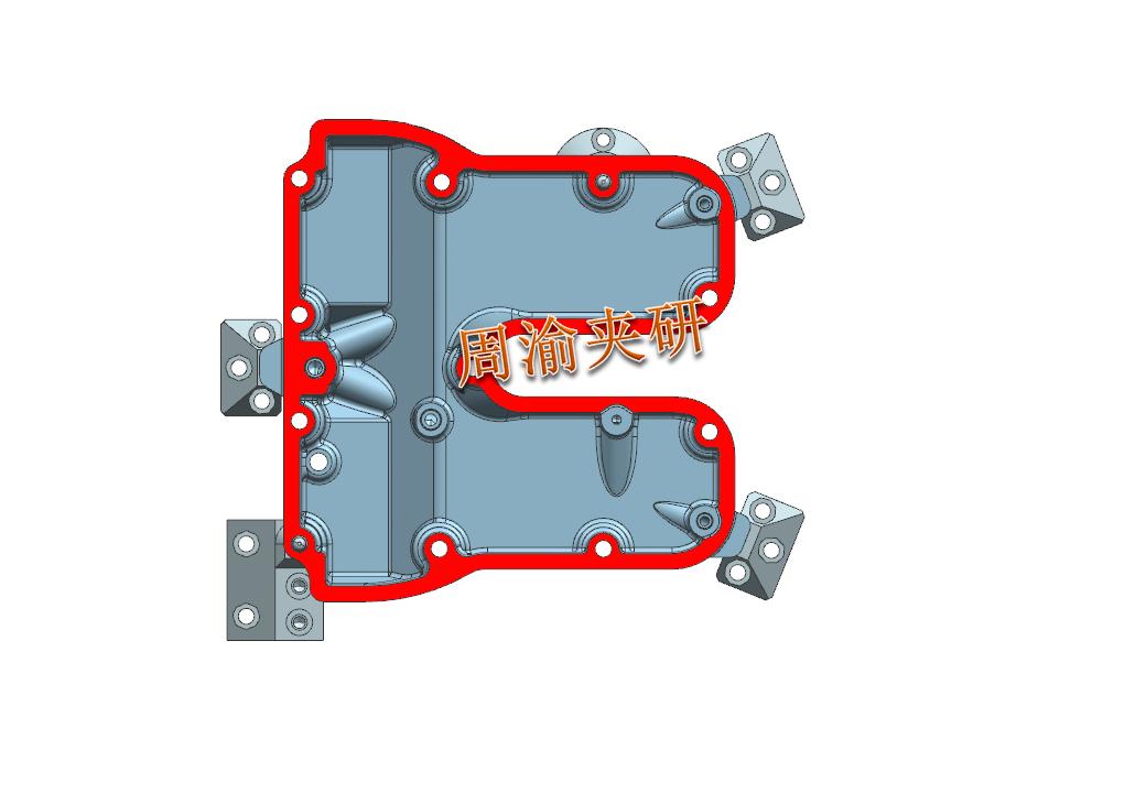 [案例分享]壳体夹具案例分享  液压夹具 立加夹具 多工位夹具 第5张