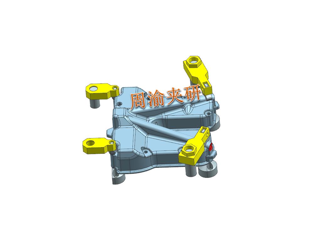 [案例分享]壳体夹具案例分享  液压夹具 立加夹具 多工位夹具 第9张