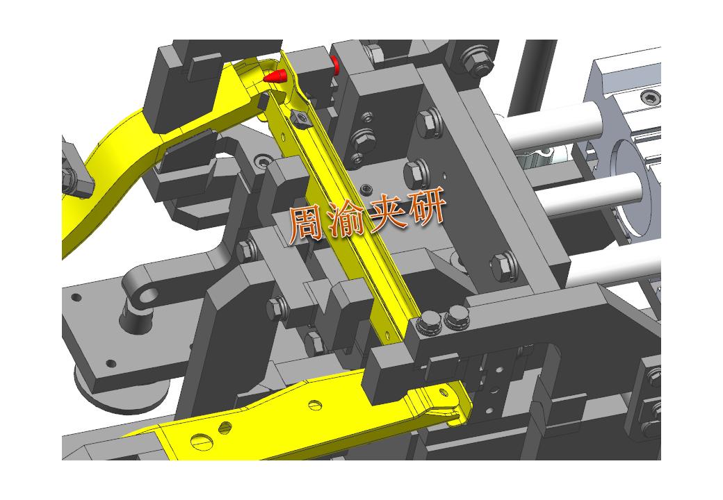 [夹研外包设计案例]壳体焊接夹具  焊接夹具 五轴夹具 第5张