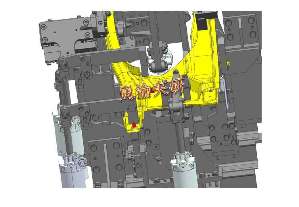 [案例分享]壳体焊接夹具  焊接夹具 五轴夹具 第7张