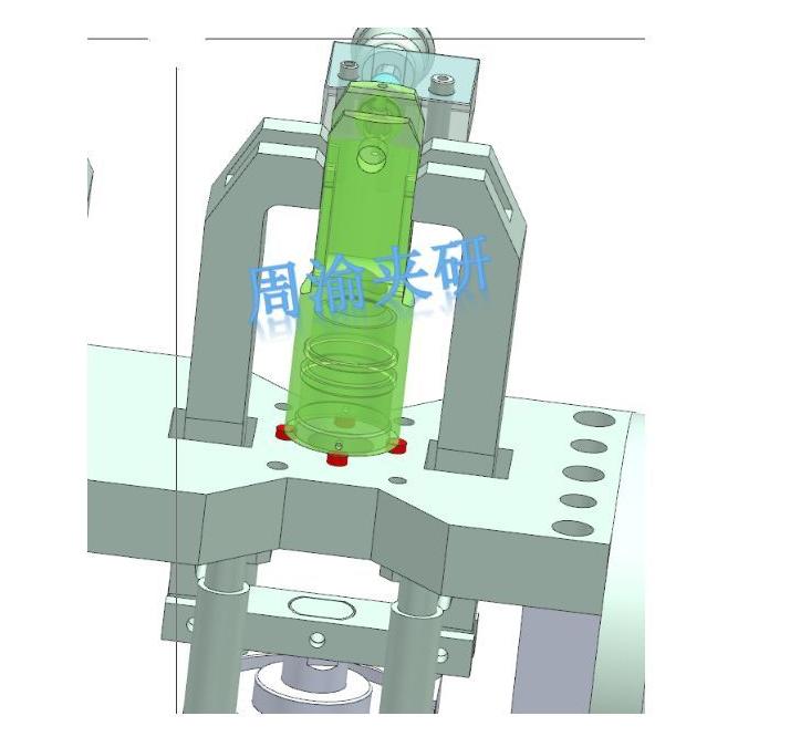 [夹研外包设计案例]节叉双工位气动夹具  气动夹具 四轴夹具 节叉加工 第5张