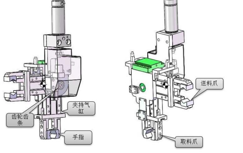 [自动化夹具案例分享]汽车空调压缩机轴加工车床机械  自动化生产线 自动化夹具 自动上下料 第3张