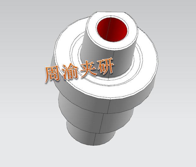 [夹具案例分享]轴类卧加液压夹具  卧加夹具 液压夹具 轴类加工 第2张