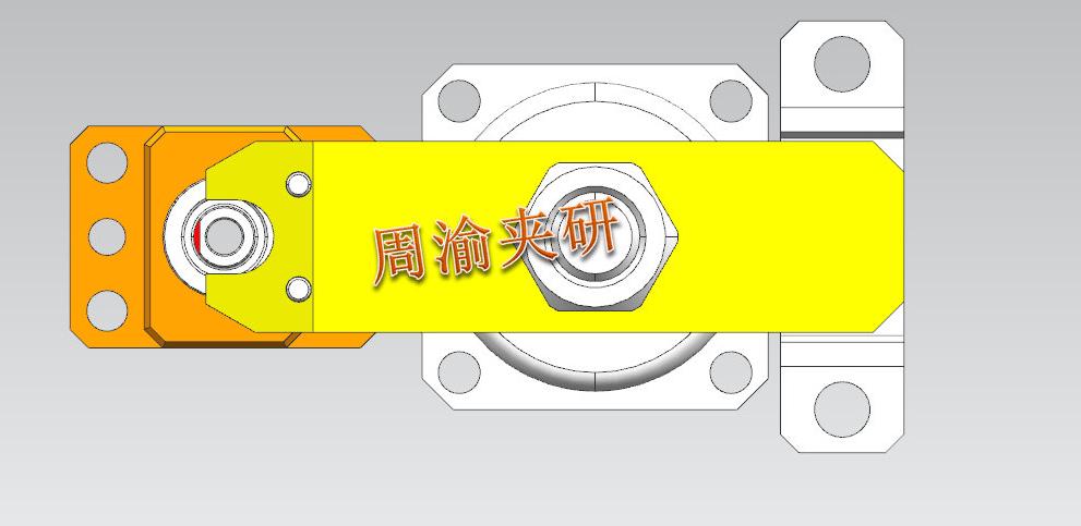 [夹具案例分享]轴类卧加液压夹具  卧加夹具 液压夹具 轴类加工 第3张