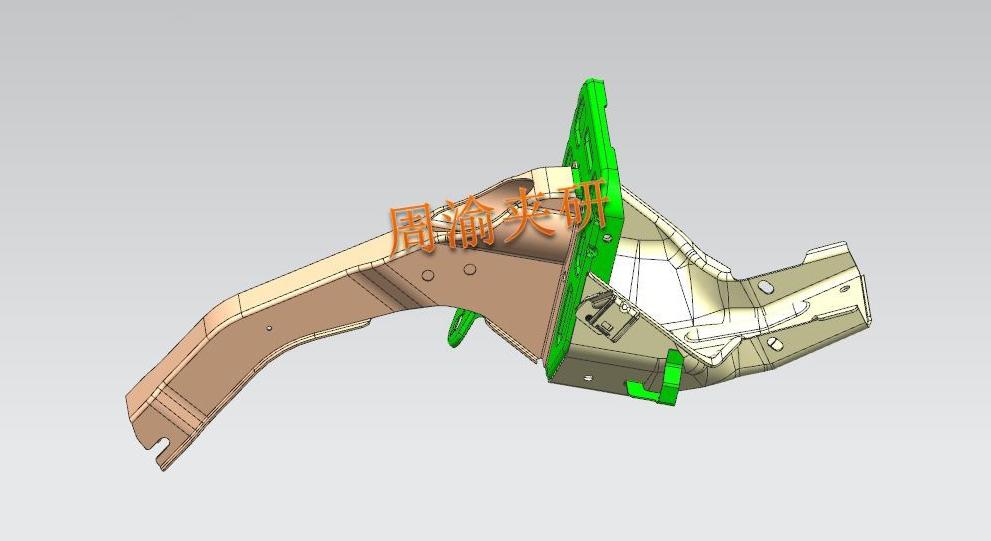 [夹具案例]壳体焊接夹具  焊接夹具 车门焊接 第1张