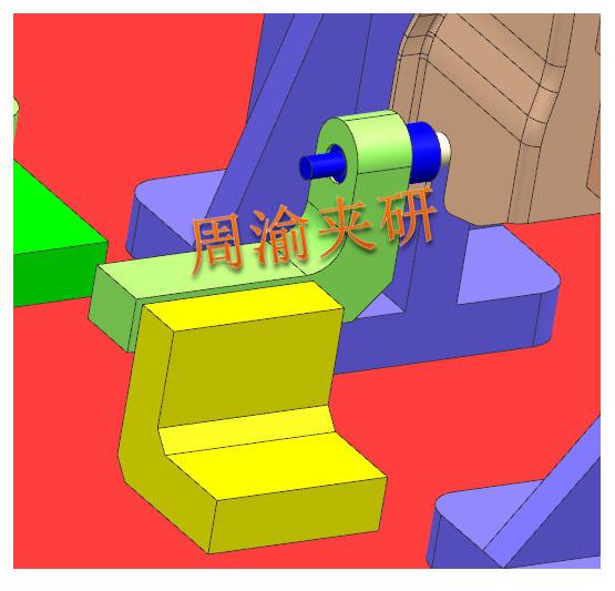 [夹具案例]壳体焊接夹具  焊接夹具 车门焊接 第6张