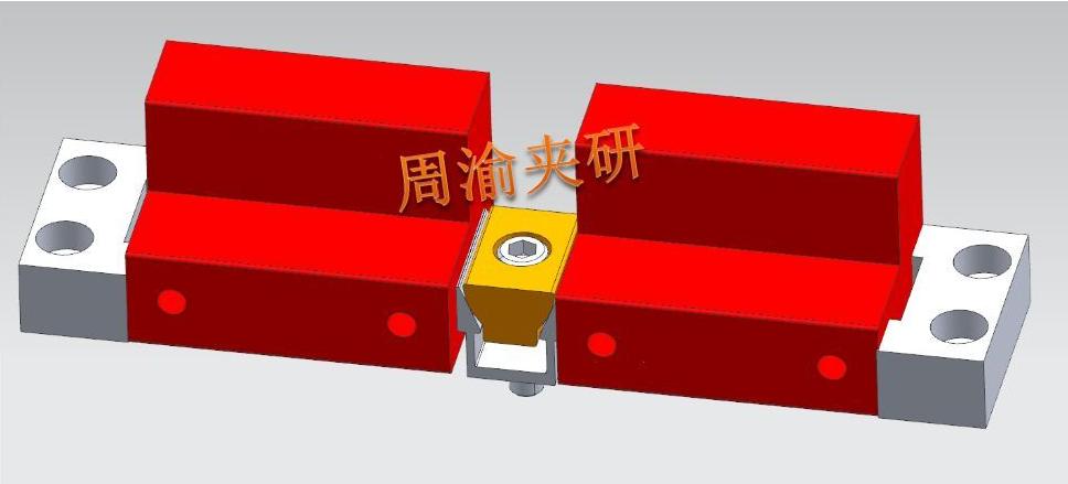 [夹具案例]多工位四轴手动夹具  四轴夹具 手动夹具 第4张
