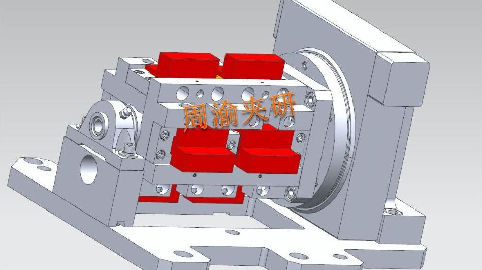 [夹具案例]多工位四轴手动夹具  四轴夹具 手动夹具 第8张