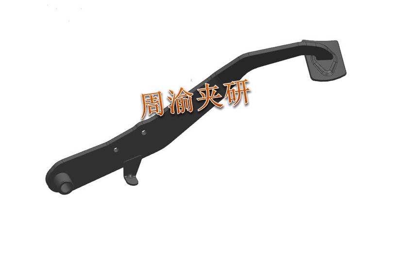 [夹研外包设计案例]定点焊接夹具  焊接夹具 定点焊接夹具 第2张