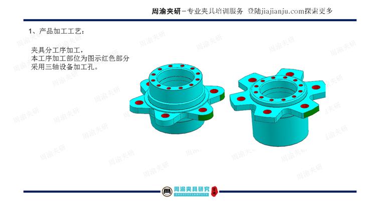 夹具设计视频教程-轮毂产品多工位液压夹具  视频教程 第5张