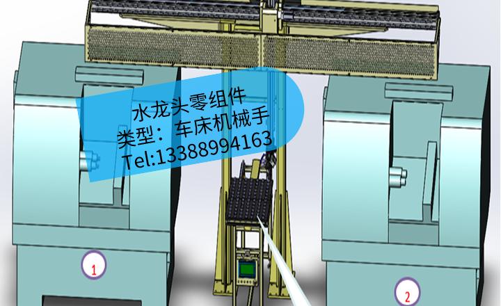 [夹研外包设计案例]不锈钢卫浴水龙头零组件加工CNC车床