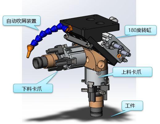 [自动化夹具案例分享]传感器外壳/五金管/传感器五金配件加工车床案例